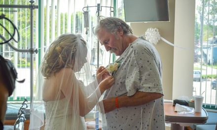 HGB staff steps up to allow patient to be there for daughter's wedding