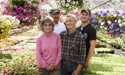 James and Diana Wietzke have kept the bloom on Roseacre Greenhouses for 50 years