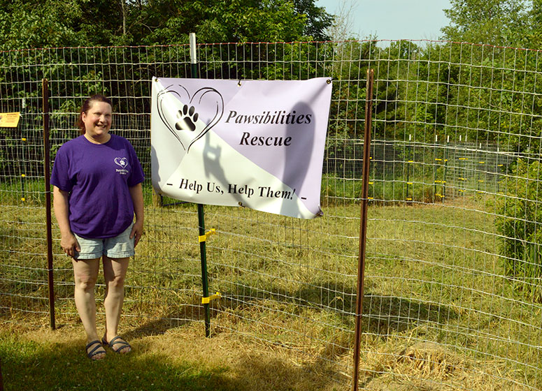 Pawsibilities Rescue embodies  owner's passion for helping animals