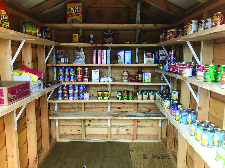 Charlotte car dealer opens community pantry
