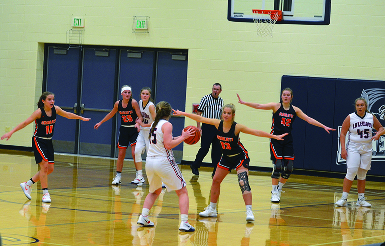 Lady Orioles open the season with 74-54 win over Lakewood