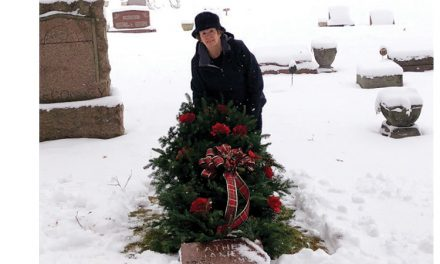 Gardener's grave blankets bring comfort during cold winter months