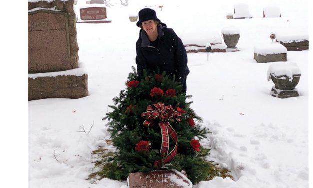 Gardener's grave blankets bring comfort during cold winter months