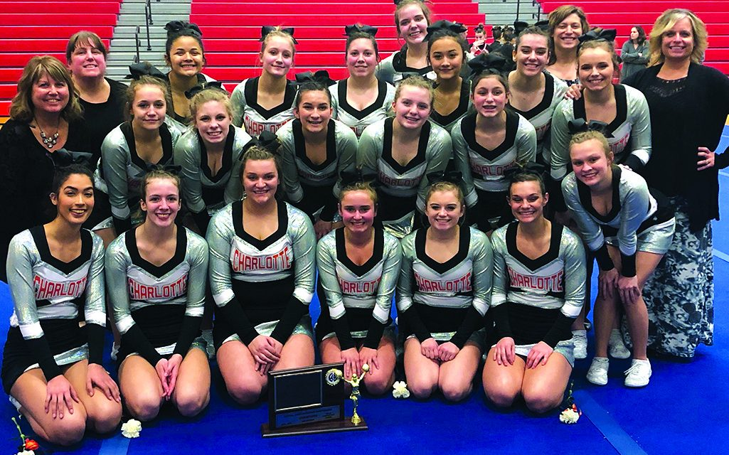Oriole cheer team prepares for Districts  after record-setting regular season