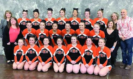 CHS Cheer finishes dominating season 4th in Div. 2