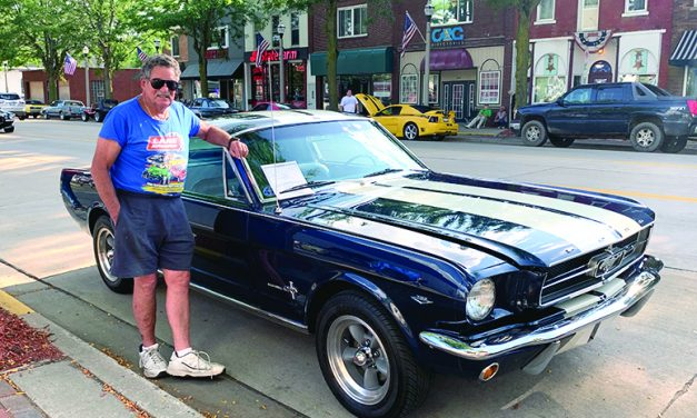 Car Cruise-In held Wednesdays in downtown Eaton Rapids