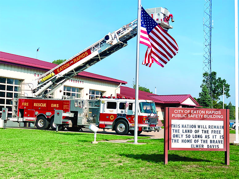 ERFD Marks 18th Anniversary of 9-11