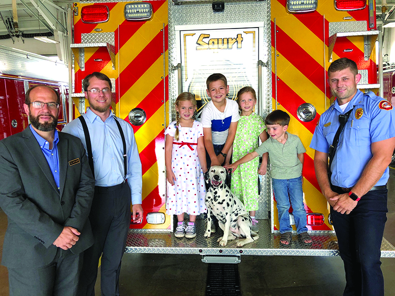 Burkhead-Green-Kilgo Funeral Home donation boosts upcoming Fire Department Open House