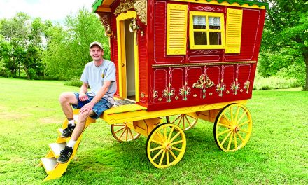 Bateman Gypsy Wagons blends passion, craftsmanship