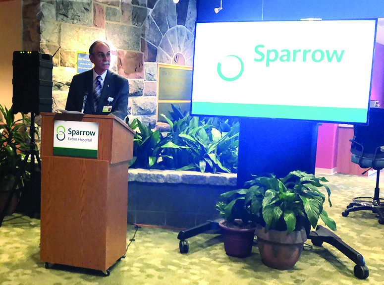 Courtship complete: HGB officially becomes Sparrow Eaton Hospital