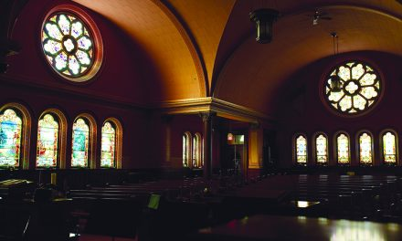 Church windows offer  'enlightened' sense of reverence