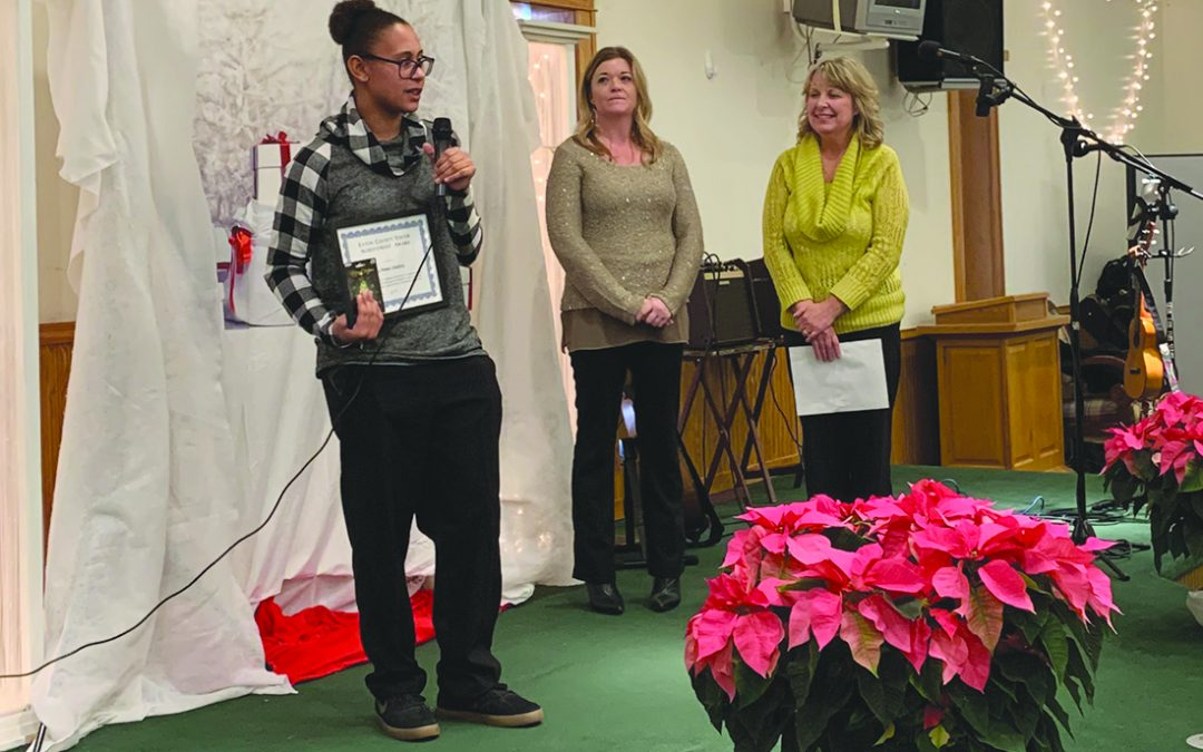 Leanna Lindsey earns 2019 Youth Achievement Award