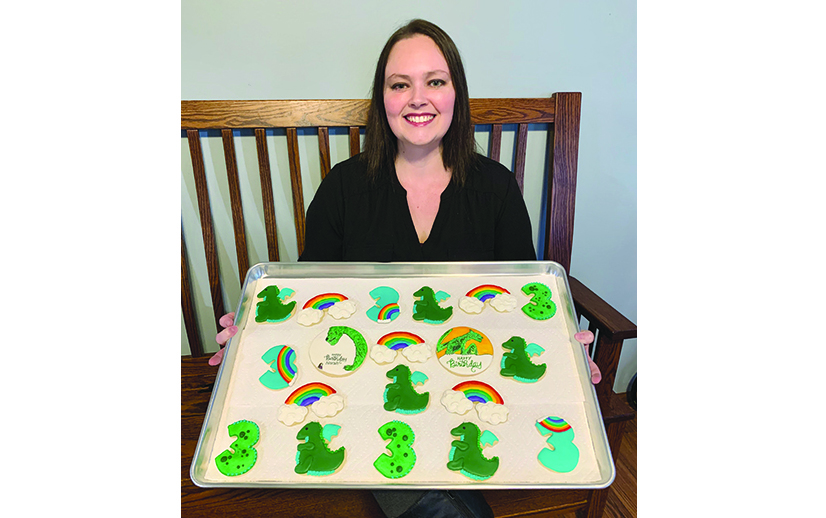 Kerry Colestock perfects the 'art of the cookie'