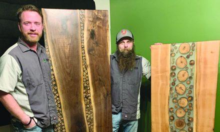 Eaton Rapids artists create unique furniture