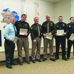 Eaton County Sheriff presents 2019 awards