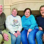 Lifelong friends celebrate anniversary of transplant