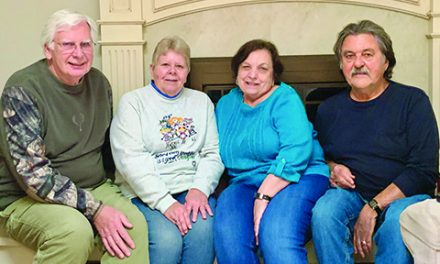 Lifelong friends celebrate anniversary of transplant