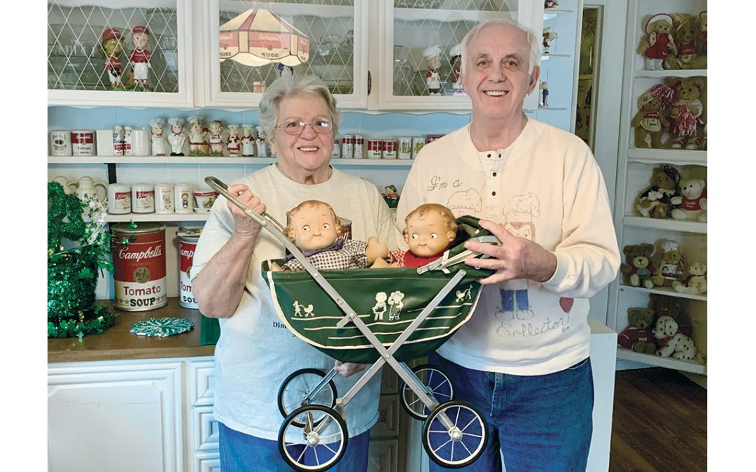 Dimondale couple sports serious Campbell Soup collection