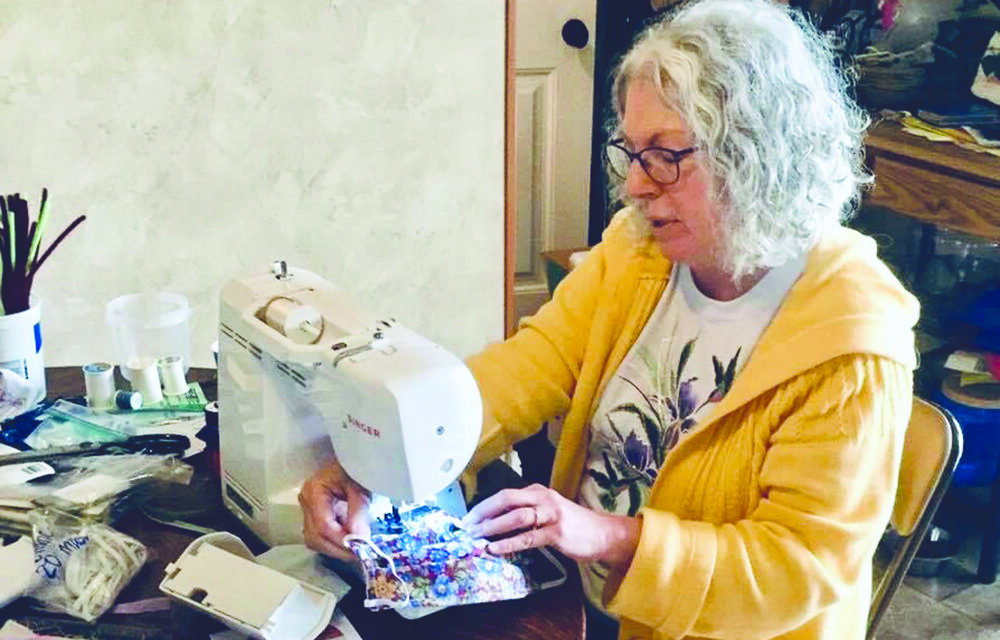 Local group providing thousands of fabric masks
