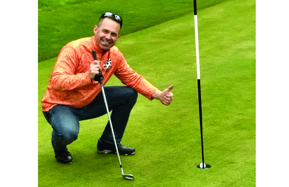 Hole-in-one at Maple Brook