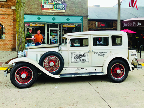 Miller car returns to Eaton Rapids
