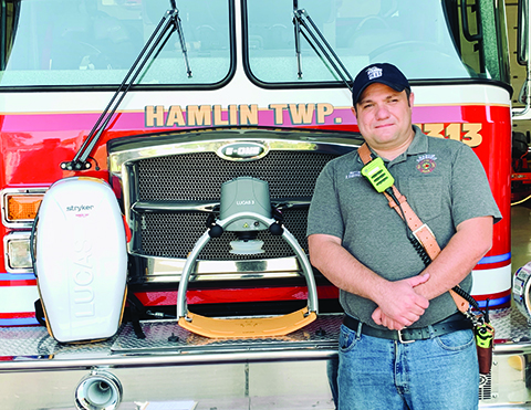 Hamlin Township Fire Rescue purchases CPR device, boat