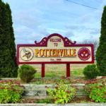Potterville City Park basketball court