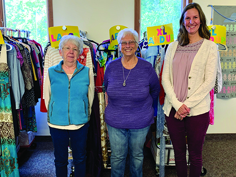Griffith Church community closet moves to Springport church