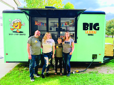 The Big Cheezy Grill, new food truck
