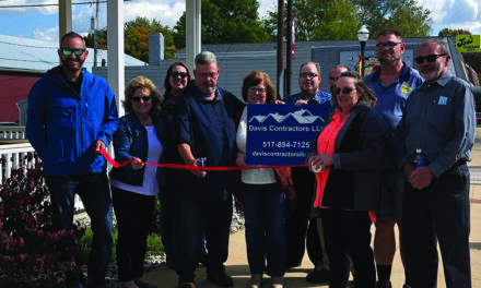 Potterville Chamber welcomes Davis Construction
