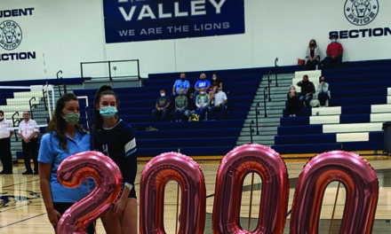 Keilyn Carpenter registers her 2000th career kill