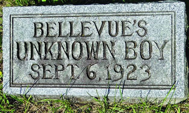 Remember When…Bellevue's Unknown Boy