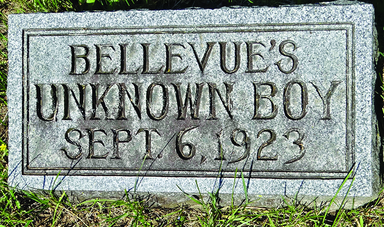 Remember When…Bellevue's Unknown Boy