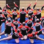 CHS Varsity Cheer Team  Scores High at Competition