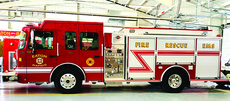 ERFD Purchases New Pumper Truck