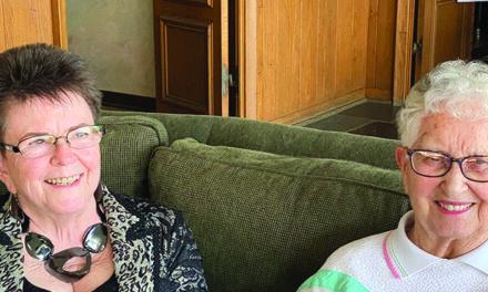 Anne Cantine Receives Lifetime Achievement Award