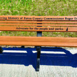 Crandell Lake Benches to Honor County Commissioner Roger Harris