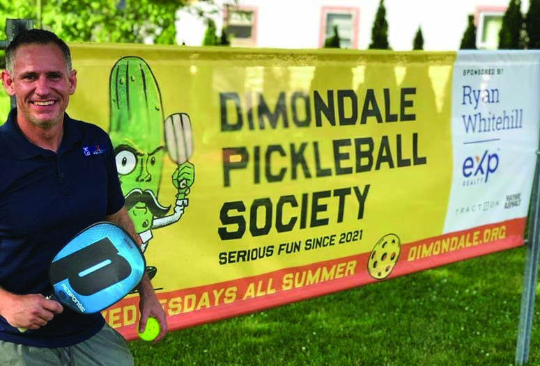 Dimondale is in a Bit of a Pickle